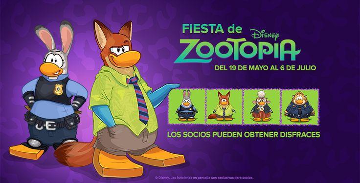 Zootopia viene a Club Penguin y  muy pronto en  Vipenguin y en  Free penguin :D