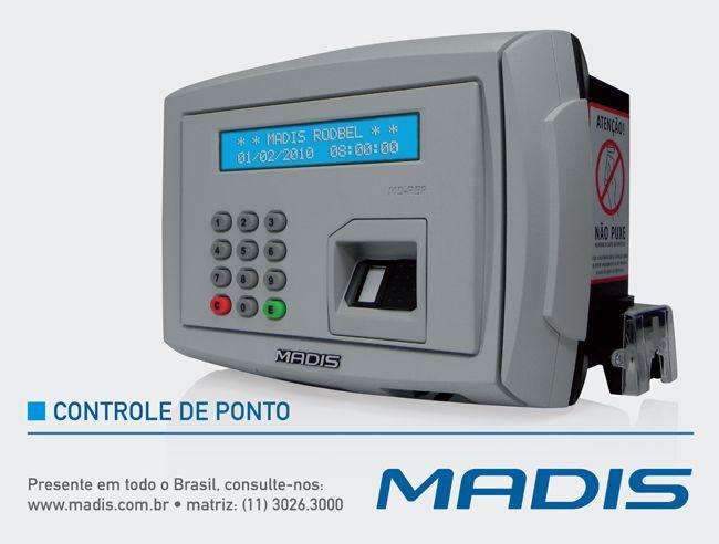 A MADIS possui a solução completa de Controle de Ponto para garantir um controle e a organização em todos os ambientes de trabalho. O Controle de Ponto proporciona confiabilidade no Controle de Ponto dos funcionários, e o Controle de Ponto MADIS é conhecido por sua alta tecnologia e excelente funcionalidade.