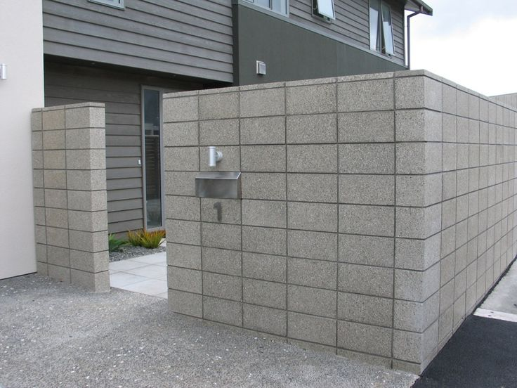 Best Block Wall Ideas On Pinterest Decorating Cinder Block - Cinder block wall fence ideas