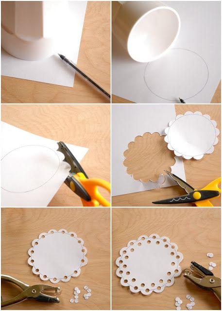 How to make a doily #DIY #Crafts