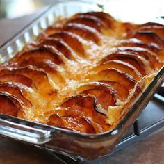 English Muffin and Ham Breakfast Strata