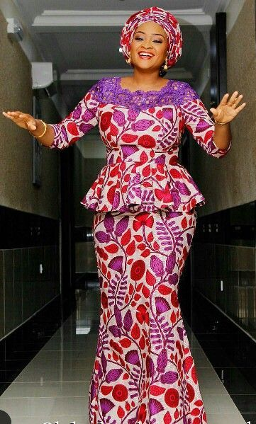 Check It Out Beautiful Ankara Skirt and Blouse Styles 1