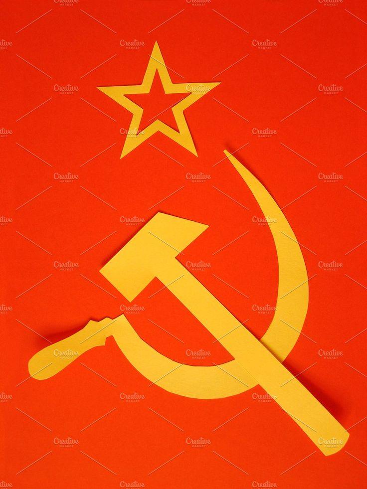 Flag of Soviet Union by UK Photos - Europa Fotos on @creativemarket