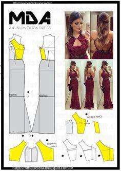 ModelistA: A4 NUM 0086 DRESS