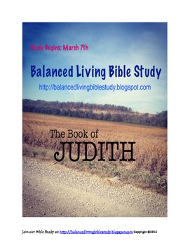 Complete Bible Study Guide for the Book of Judith
