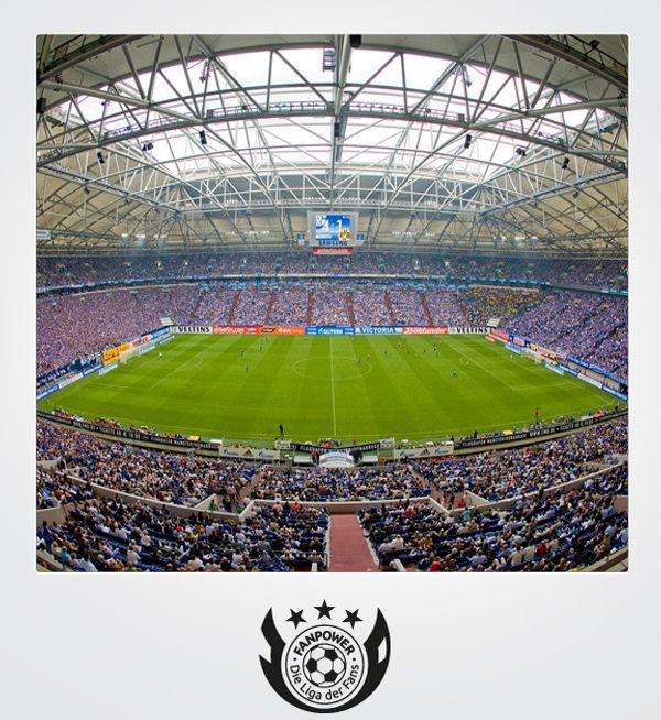 Veltins-Arena | Gelsenkirchen | Club: FC Schalke 04 | Zuschauer: 61.673
