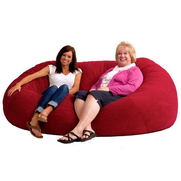 Comfort Research Fuf Bean Bag Sofa & Reviews | Wayfair