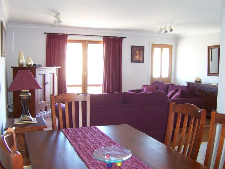 Lounge room, dining room