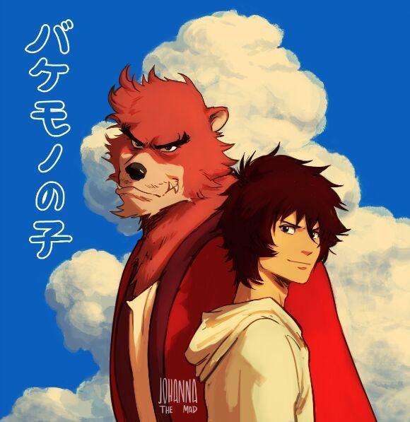 The Boy and the Beast #Kumatetsu #Kyuta (by Johanna the Mad)