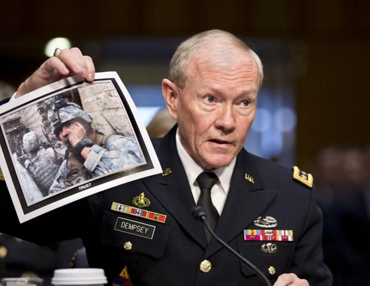 Gen. Martin Dempsey, chairman of the Joint Chiefs of Staff, wrote to a congressman in a letter obtained by The Associated Press.