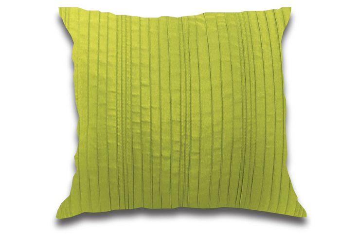 "Spun Silk Cushion 100% Polyester, Easy Care Faux Silk 24 x 24"""