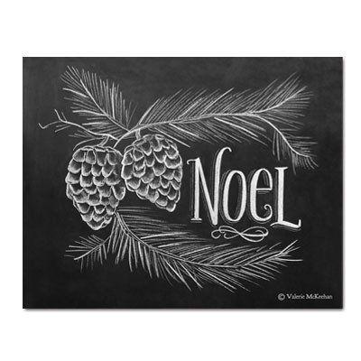 Noel - Print #Christmas #Gifts #Holiday