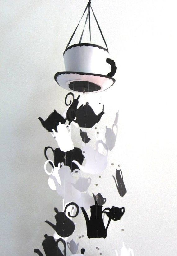 Alice in Wonderland idea: the students could decorate their own teapots and hang as a display