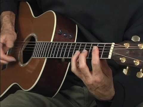 ▶ Acoustic fingerstyle Blues guitar lesson ala Robert Johnson Blind Boy Fuller - YouTube
