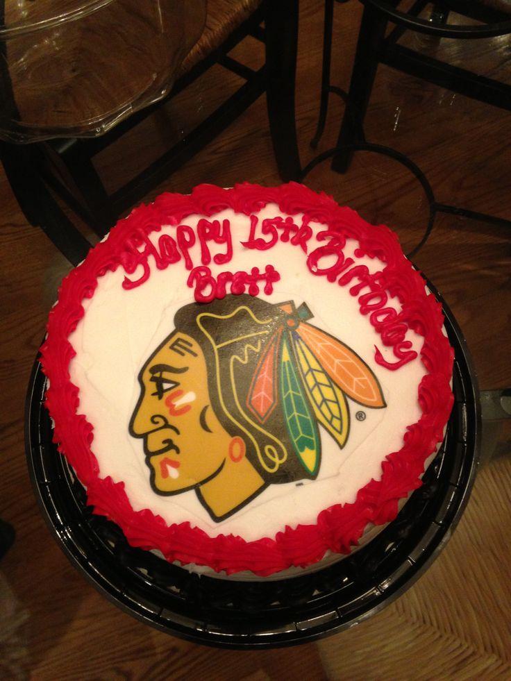 Cake Designs At Jewel : Chicago Blackhawks Cake from Jewel Fun Pinterest ...