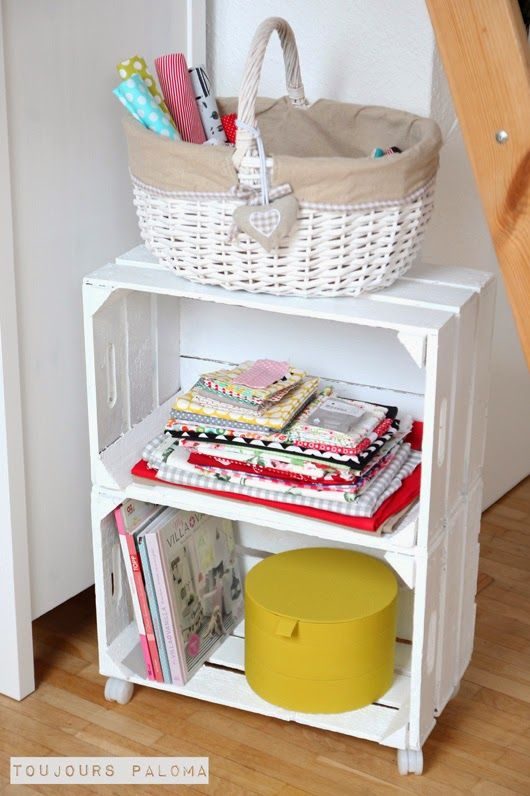 Upcycling Weinkisten-Regal