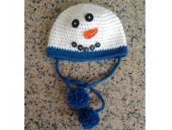 Schemi uncinetto di Natale: Cappellino 'Pupazzo di Neve' - Corredino a maglia e uncinetto - NostroFiglio.it