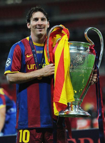 Lionel Messi in Barcelona v Manchester United - UEFA ...