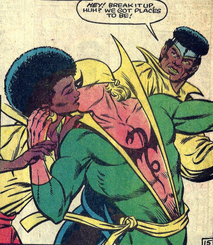 Iron fist and misty knight