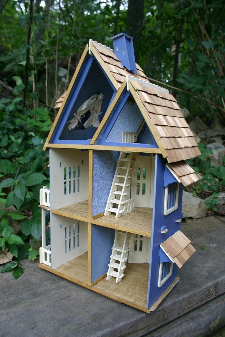 Victorian miniature houses - Victorian Dollhouse Diy Dollhouse Anonymous Doll Houses Woodwork Victorian House Miniature Casitas Toys