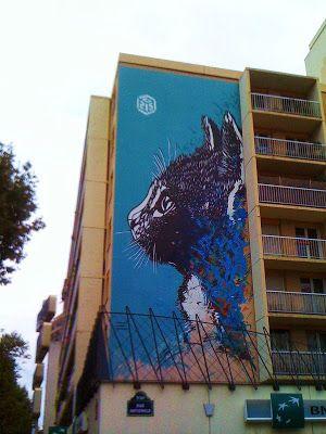 Sunday Street Art : C215 - rue Nationale - Paris 13 | ParisianShoeGals