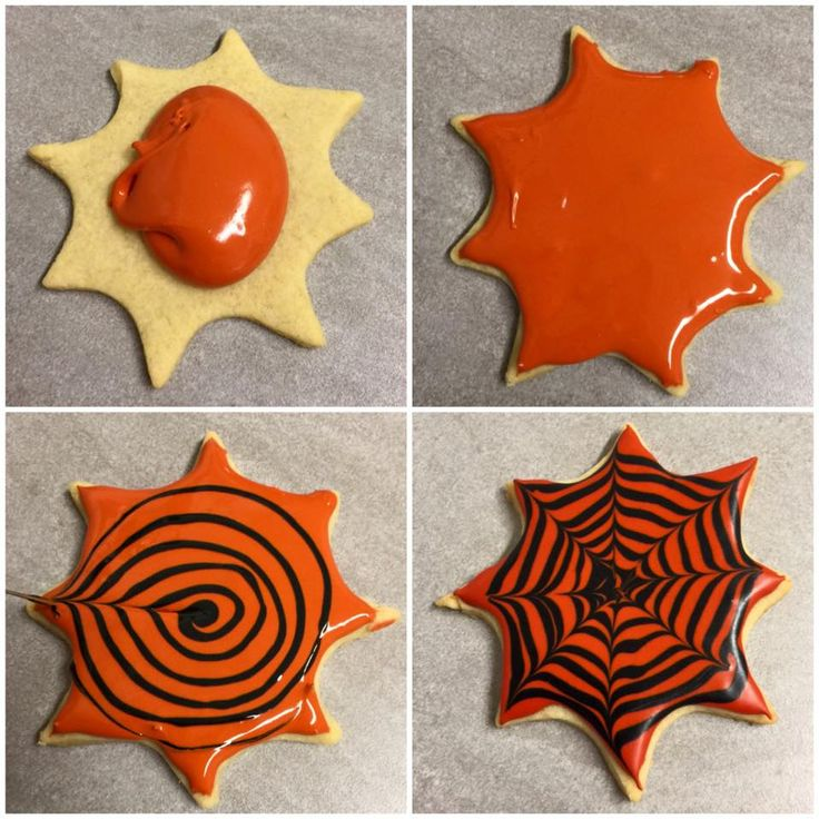 Cookies Vaniljekjeks Royal Icing How Too Halloween