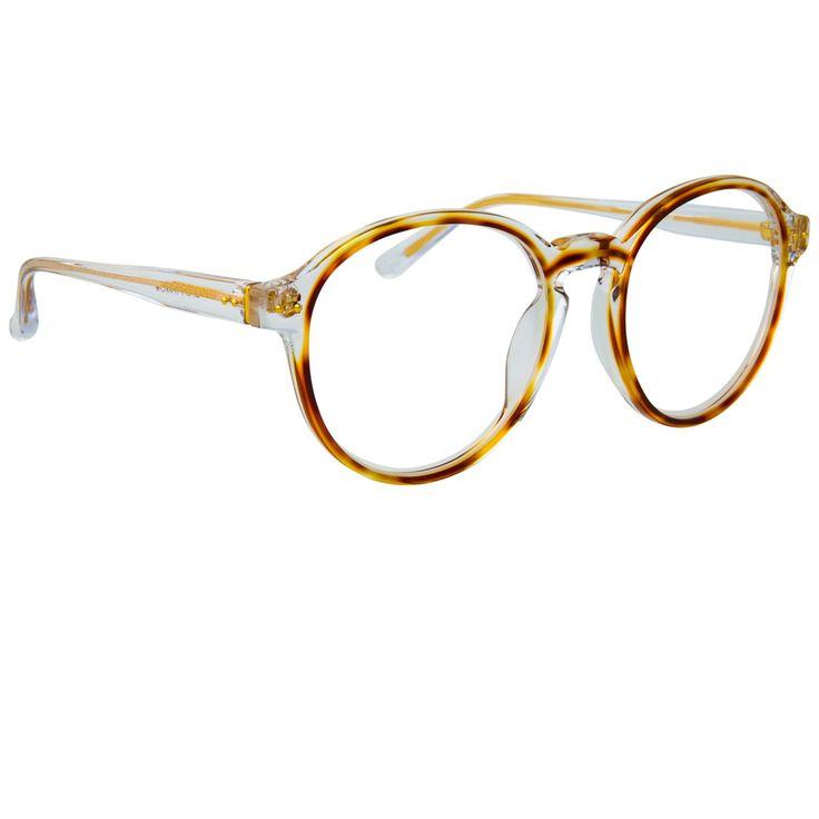 c755e83d51f2 Linda Farrow 40 C25 Oval Optical Frame