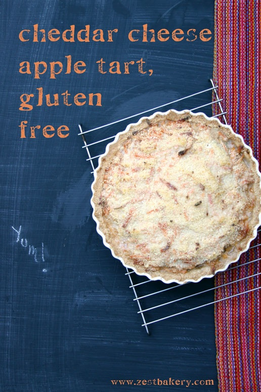 ... with cheddar crumble for the gluten-free ratio rally | Zest Bakery