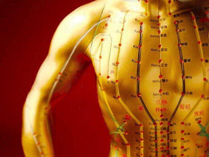 Акупунктурные точки для похудения помогут быстро сбросить лишний вес