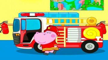 Пожарная Машинка Гиппо Пеппы и пожарный патруль - Мультики про машинки и пожарных для детей http://video-kid.com/9283-pozharnaja-mashinka-gippo-peppy-i-pozharnyi-patrul-multiki-pro-mashinki-i-pozharnyh-dlja-detei.html  Пожарная машинка Гиппо Пеппы в этом мультике про машинки сегодня ей пригодится, так как поступил срочный вызов на пожар в многоэтажном здании, в котором находятся разные животные. Вместе с Гиппо Пеппой мы будем собирать воду для тушения пожара, объезжать различные препятствия…