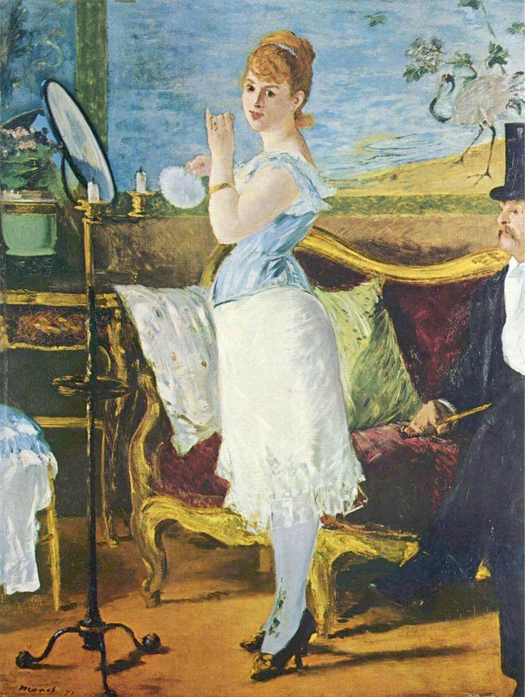 """""""Nana"""" 1877  Dimension: 264 x 115 cm  Kunsthalle Hamburg, Amburgo"""