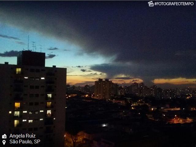 #Domingo típico de verão em São Paulo - Climatempo Meteorologia - Notícias sobre o clima e o tempo do Brasil: Climatempo Meteorologia -…