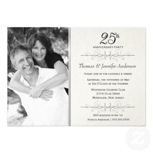 17 Best ideas about Wedding Anniversary Invitations on Pinterest ...