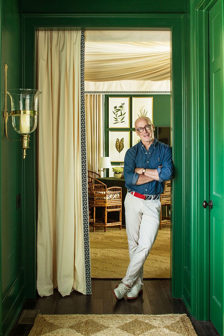 Architect Bill Ingram in his space designed for the 2016 Southern Living Idea House