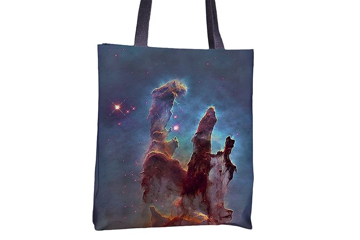 """Tote Bag - """"Eagle Nebula"""" http://www.lawleypop.ca/shop/product/tote-bag-eagle-nebula/ OFFICIAL LAWLEYPOP MERCHANDISE #allover #full #seamless #doublesided #print #printed #printing #lawleypop #lwleypop #lawleypopdesign #lawleypopmerch #fashion #accessories #style #bags #totes #totebags #handbags #shoulderbags #chic #street #urban #unique #custom #photography #landscape #nature #space #deep #galaxy #cosmo #nebula #hubble #nasa #astrology #astronomy #science #scifi #alien #label #logo #brand…"""
