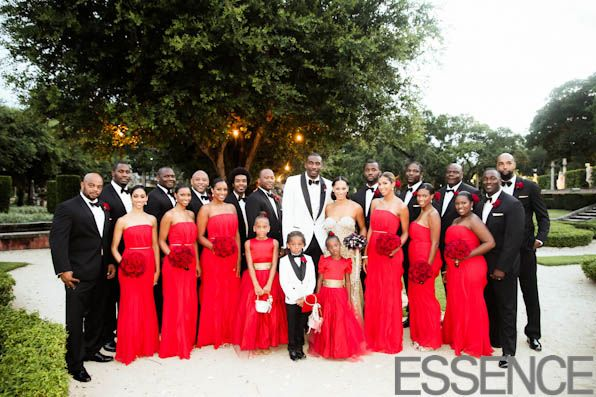 Bridal Bliss Exclusive: Amar'e Stoudemire and Alexis Welch's Wedding Photos: The Red Sea: Page 21 : Essence.com