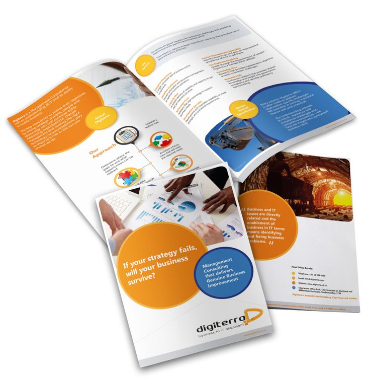 Digiterra Brochure/Company Profile Design