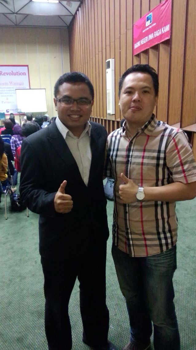 Me and Mr.Fuad Zakiy [Pakar Public Speaking and Motivator]
