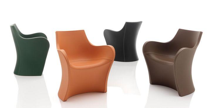 Leather Woopy - Chair - 2013 - Karim Rashid
