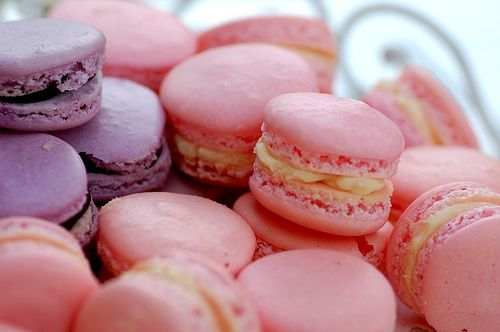 Love Food? This blog is for you.: Macaroons, Sweet, Food, Yum, Pink, Macaroons, Dessert