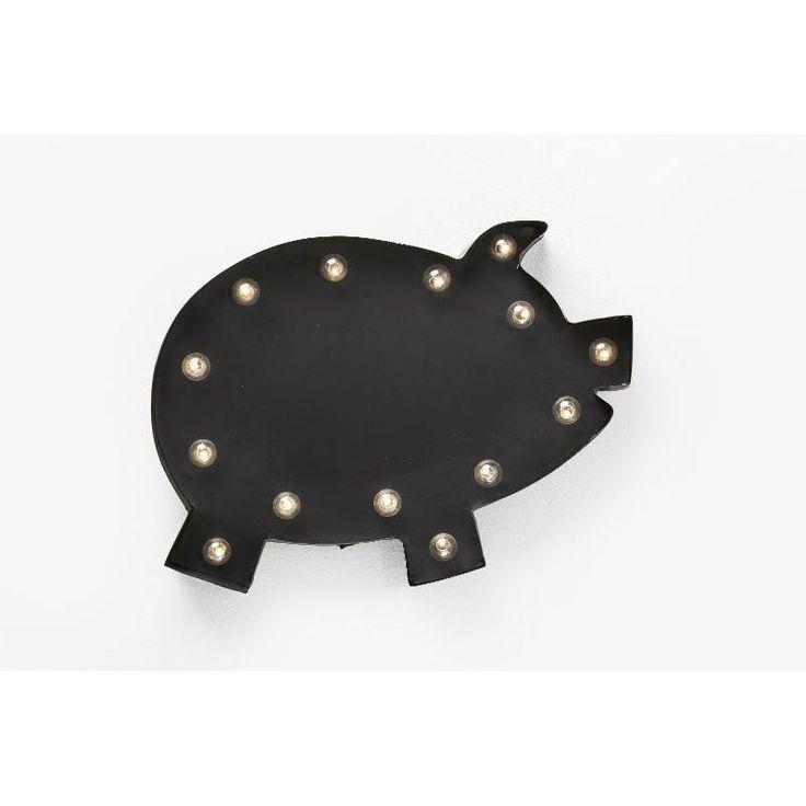 Φωτιστικό τοίχου Piggy LED  Ένα ιδιαίτερο φωτιστικό τοίχου ένα γουρουνάκι για να φωτίσετε και συγχρόνως να διακοσμήσετε τον τοίχο σας.  €129
