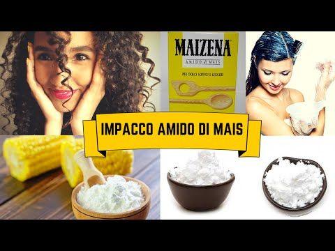 IMPACCO SUPERIDRATANTE & MOLTO ARRICCIANTE ALL'AMIDO DI MAIS/MAIZENA | Capelli Ricci - YouTube