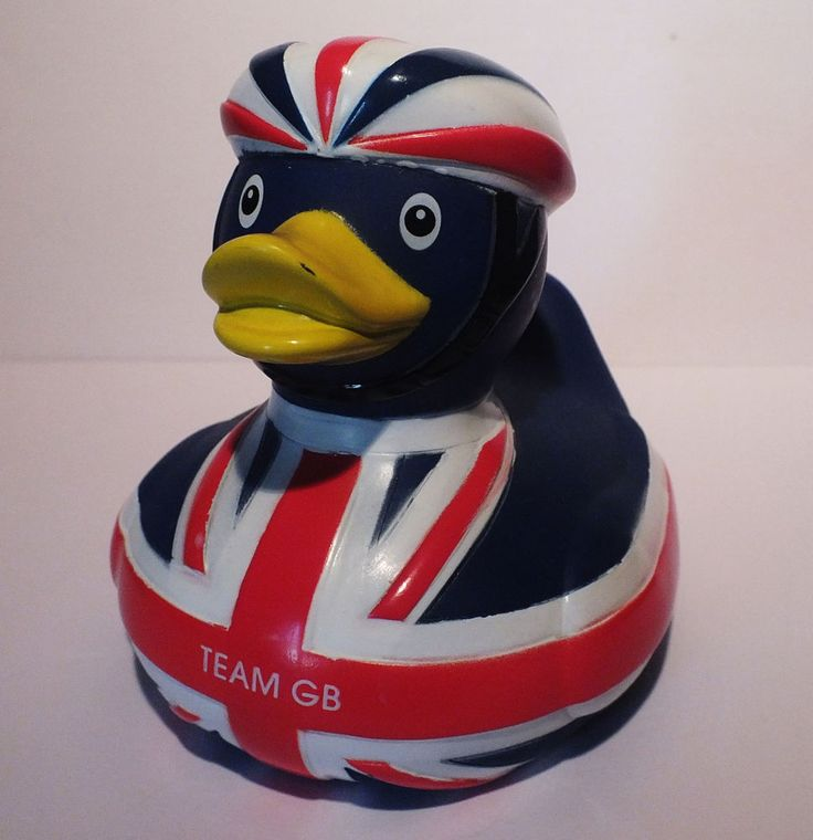 1Rubber Duck,Toy London Olympic Games 2012 Cyclist Blue Team GB HY-PRO  | eBay