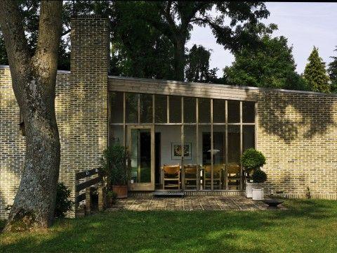 Exners hus FINANS: Sted - Skodsborg Arkitekt - Inger og Johannes Exner Byggeår - 1959-1961