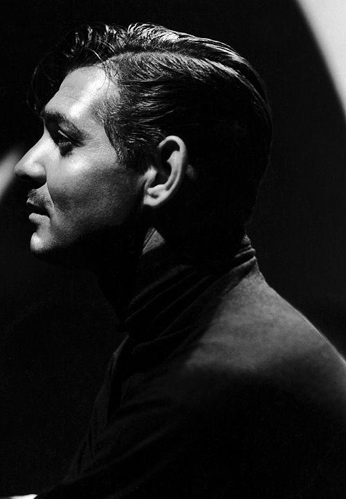Clark Gable photographed by Laszlo Willinger, 1937