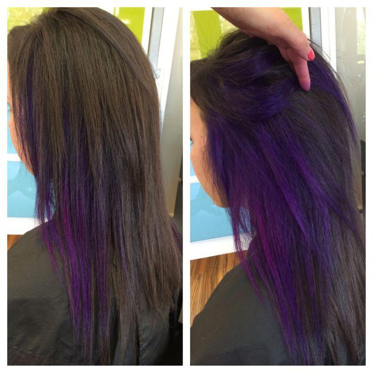 Purple magenta peekaboos!