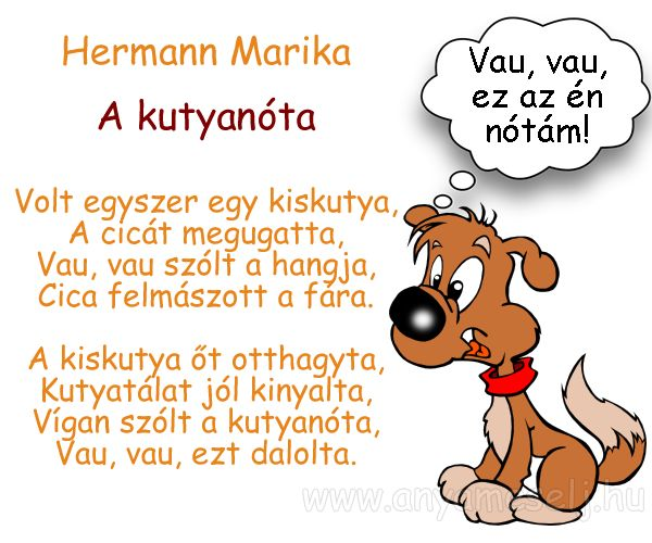 Hermann Marika: A kutyanóta