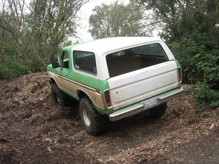 A major redesign in 1978 moved the Bronco to a larger size. I like this one.