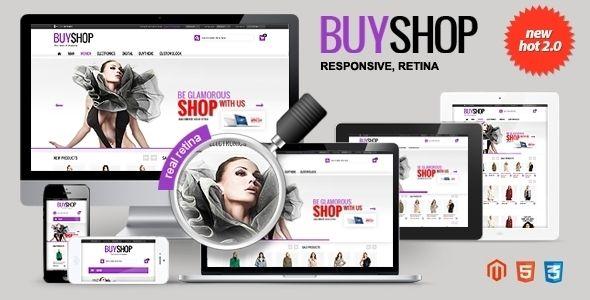 BUYSHOP - Premium Responsive Retina Magento theme (Magento)