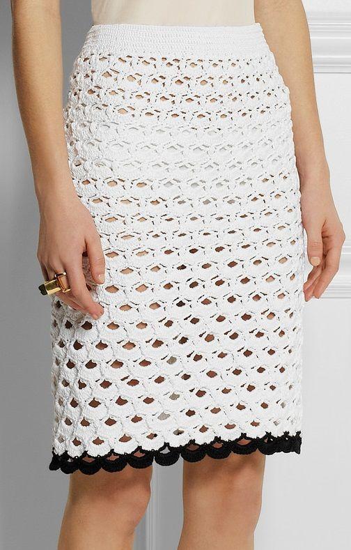 crochet skirt - Sibling